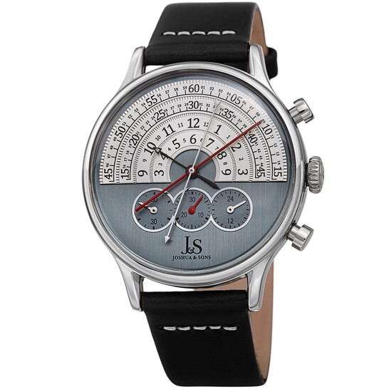 Joshua And Sons Chronograph Blue Dial Men's Watch JX152SS | Joma Shop