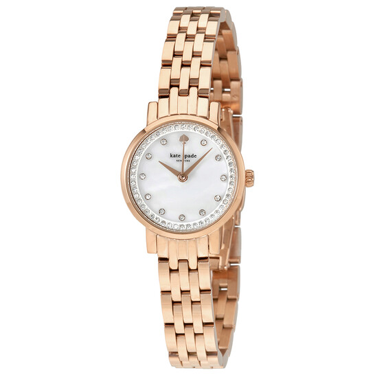Kate Spade Mini Monterey Mother of Pearl Dial Ladies Watch KSW1243 | Joma Shop