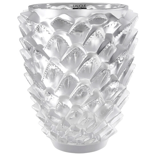 Lalique Agave Clear Crystal Vase 10489500 | Joma Shop