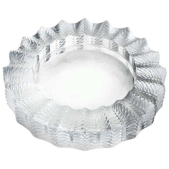 Lalique Crystal Jamaique Ashtray 10702   Joma Shop