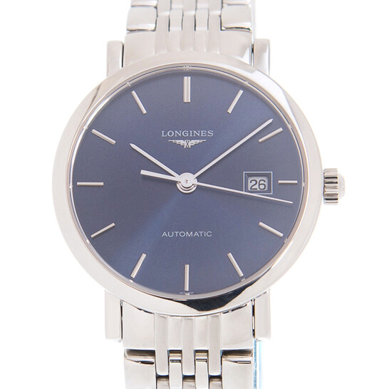 Longines Elegant Automatic Blue Dial Unisex Watch L4.310.4.92.6 | Joma Shop