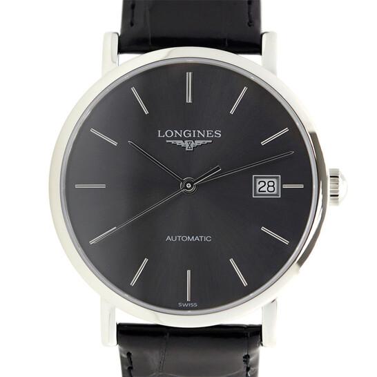 Longines Elegant Grey Dial Men's Watch L4.810.4.72.2 | Joma Shop