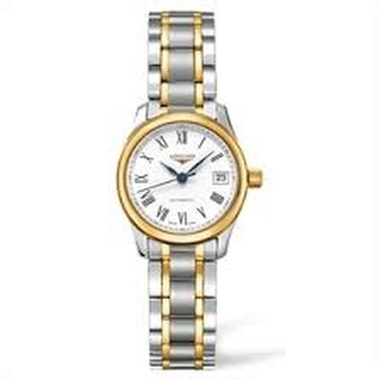 Longines Master Automatic White Dial Ladies Watch L2.128.5.11.7   Joma Shop