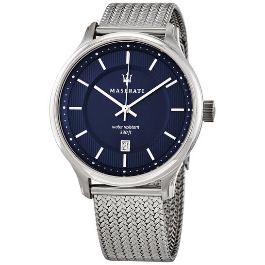 Maserati Gentleman Quartz Blue Dial Men's Watch R8853136002 | Joma Shop