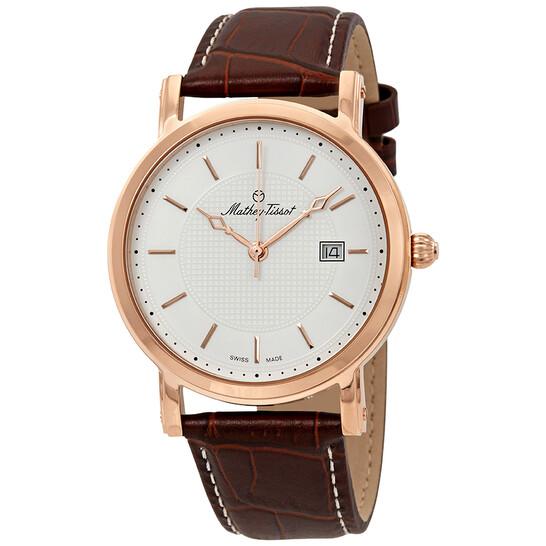 Mathey-Tissot City White Dial Men's Watch HB611251PI   Joma Shop