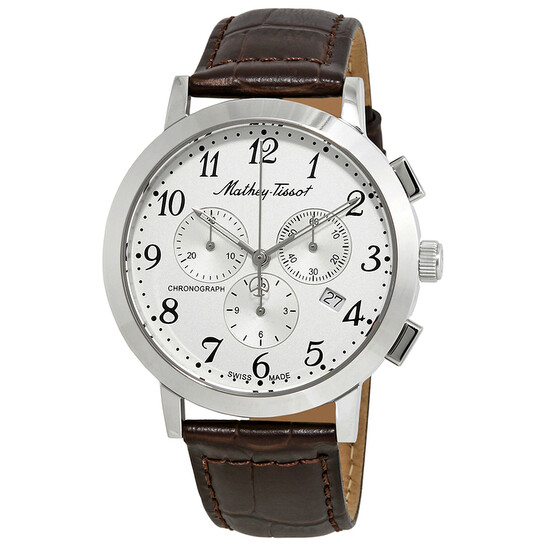 Mathey-Tissot Sport Classic Chronograph White Dial Men's Watch H9315CHALG   Joma Shop