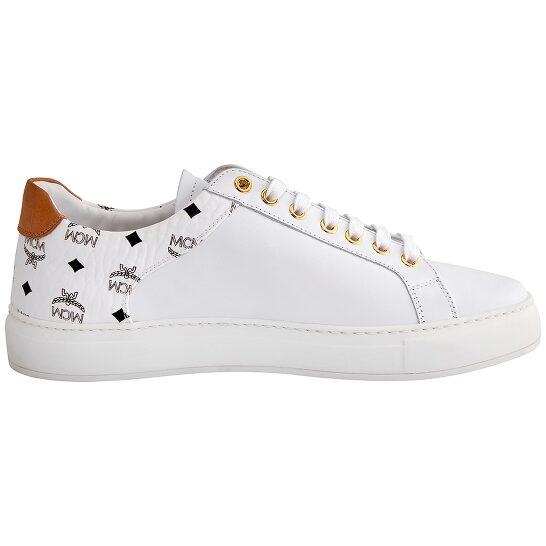 Mcm Ladies M Logo Combi Lt Sneakers, Brand Size 44 ( US Size  14 ) | Joma Shop