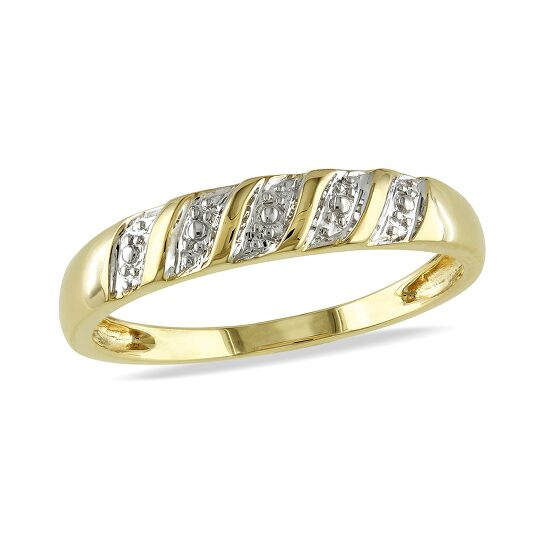 Amour Men's Ring  10k Yellow Gold Size 9 | Joma Shop