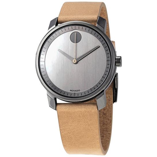 Movado Bold Quartz Dark Gunmetal Ion-Plated Men's Watch 3600487   Joma Shop