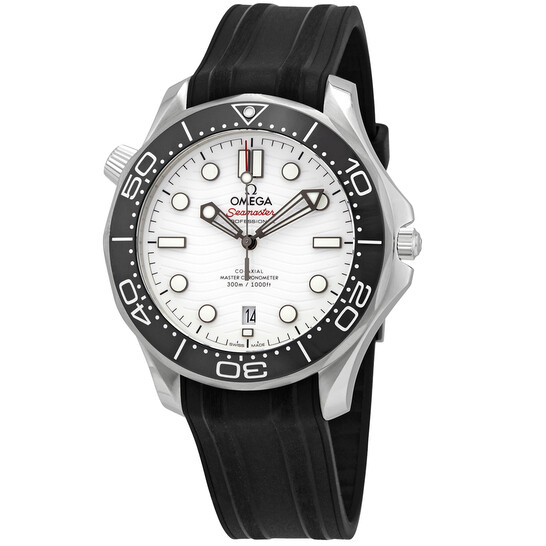 Omega Seamaster Automatic White Dial Men's Watch 210.32.42.20.04.001 | Joma Shop