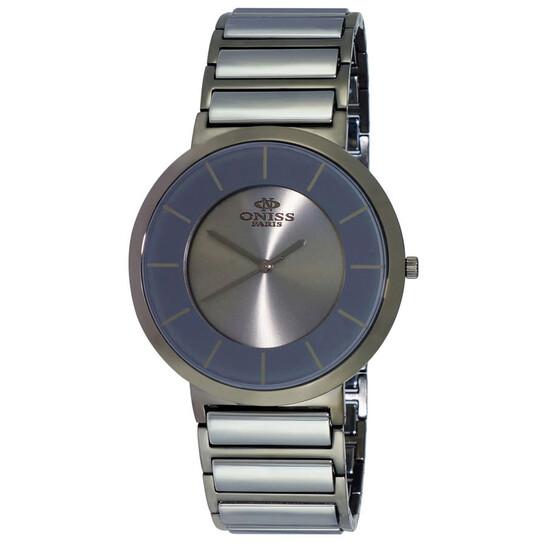 Oniss ON5555 SS-Tungsten Series Quartz Grey Dial Men's Watch ON5555SST | Joma Shop