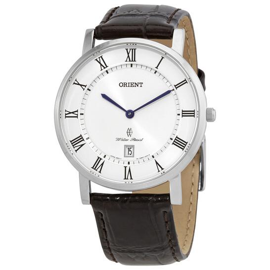Orient Classic Quartz White Dial Men's Watch FGW0100HW0 | Joma Shop