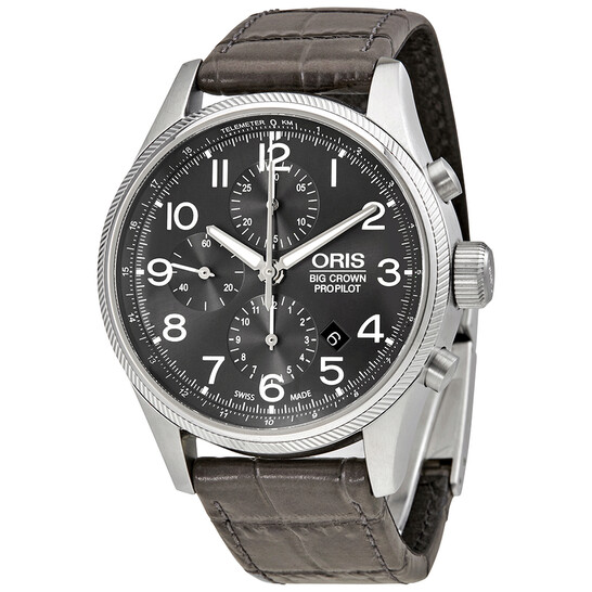 Oris Big Crown ProPilot Automatic Chronograph Men's Watch 774-7699-4063GYLS | Joma Shop