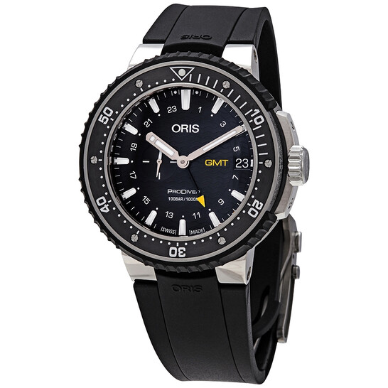 Oris ProDiver GMT Automatic Black Dial Men's Watch 01 748 7748 7154-07 4 26 74TEB   Joma Shop