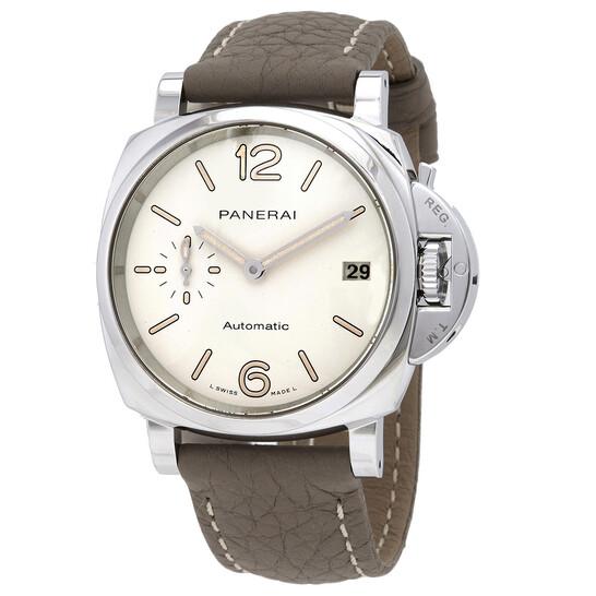 Panerai Luminor Due Automatic White Dial 38 mm Watch PAM01043 | Joma Shop