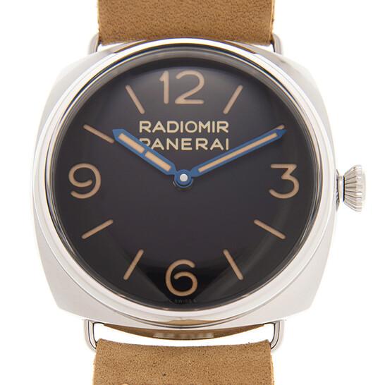 Panerai Radiomir Hand Wind Black Dial Men's Watch PAM00720   Joma Shop