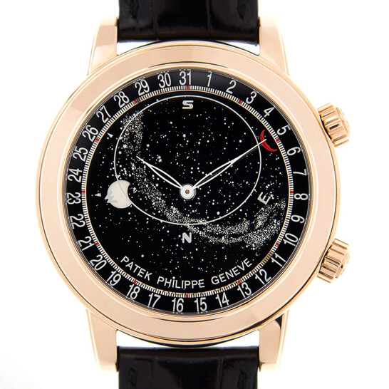 Patek Philippe Grand Complications Black Dial Men's Watch 6102R-001   Joma Shop