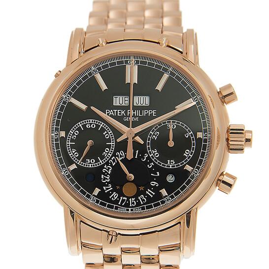 Patek Philippe Grand Complications Black Dial Men's Watch 5204/1R-001   Joma Shop