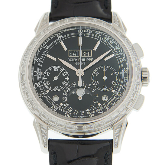 Patek Philippe Grand Complications Perpetual Chronograph Hand Wind Men's Watch 5271P-001   Joma Shop