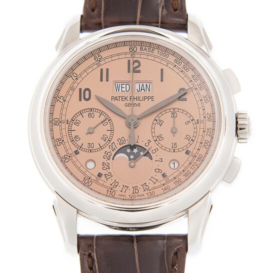 Patek Philippe Grand Complications Perpetual Chronograph Salmon Dial Men's Watch 5270P-001 5270P-001 - Patek Philippe, Grand Complications - Jomashop