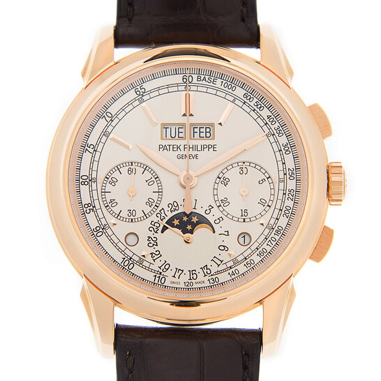 Patek Philippe Grand Complications Silver Dial 18K Rose Gold Men's Watch  5270R-001 5270R-001 - Patek Philippe, Grand Complications - Jomashop