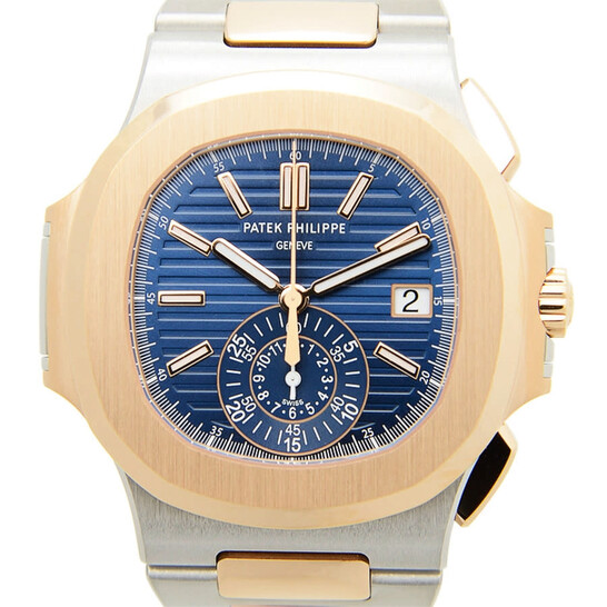Patek Philippe Nautilus Chronograph Blue Dial Men's Watch 5980-1AR-001 | Joma Shop