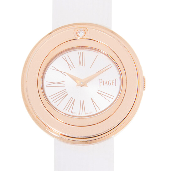 Piaget Possession Silver Dial Ladies 18K Rose Gold Watch G0A41084   Joma Shop