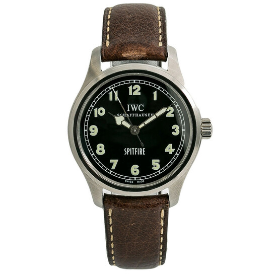 Iwc Pre-owned IWC Mark XV Spitfire Black Dial Men's Watch IW3253005   Joma Shop