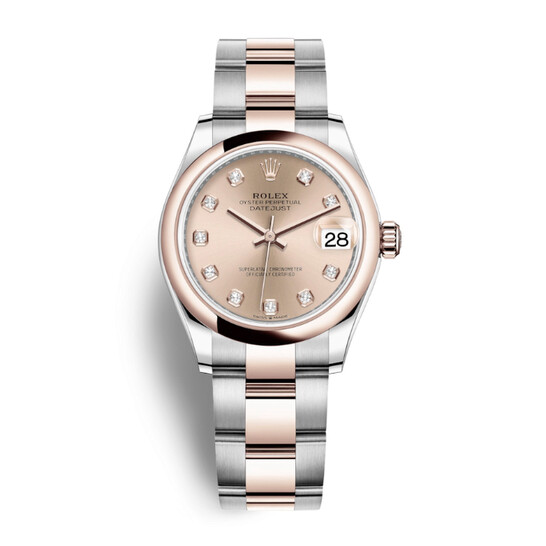 Rolex Datejust 31 Rose Dial Automatic Ladies Steel and 18kt Everose Gold Oyster Watch 278241PDO | Joma Shop