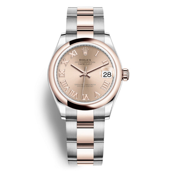 Rolex Datejust 31 Rose Dial Automatic Ladiess Steel and 18kt Everose Gold Oyster Watch 278241PRO | Joma Shop