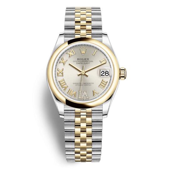 Rolex Datejust 31 Silver Dial Ladies Steel and 18kt Yellow Gold Jubilee Watch 278243SRDJ   Joma Shop