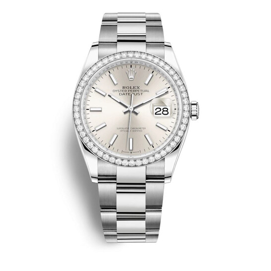 Rolex Datejust 36 Automatic Silver Dial Unisex Oyster Watch 126284SSO | Joma Shop