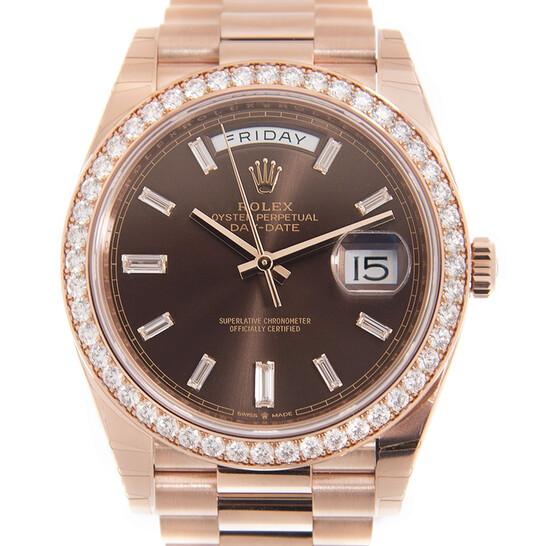 Rolex Day-Date 40 Automatic Diamond Men's Watch 228345CHDP   Joma Shop