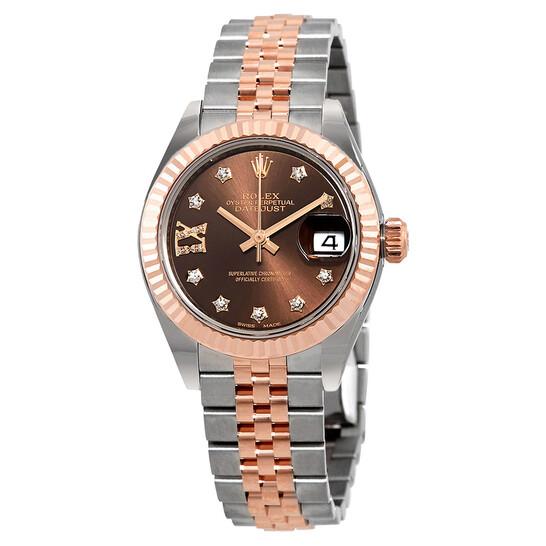 Rolex Lady Datejust Chocolate Diamond Dial Automatic Watch 279171CHDRJ | Joma Shop