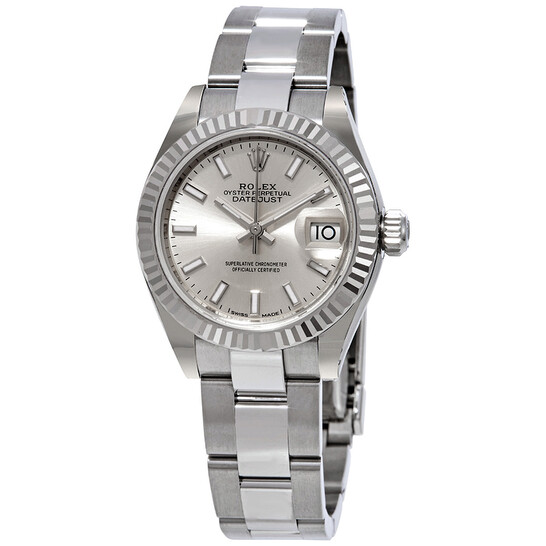 Rolex Lady-Datejust Silver Dial Automatic Ladies Oyster Watch 279174SSO   Joma Shop