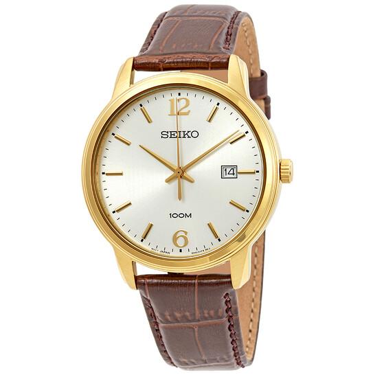 Seiko Neo Classic Silver Dial Men's Watch SUR266P1 | Joma Shop