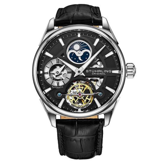 Stuhrling Original Legacy Automatic Black Dial Men's Watch M13599 | Joma Shop