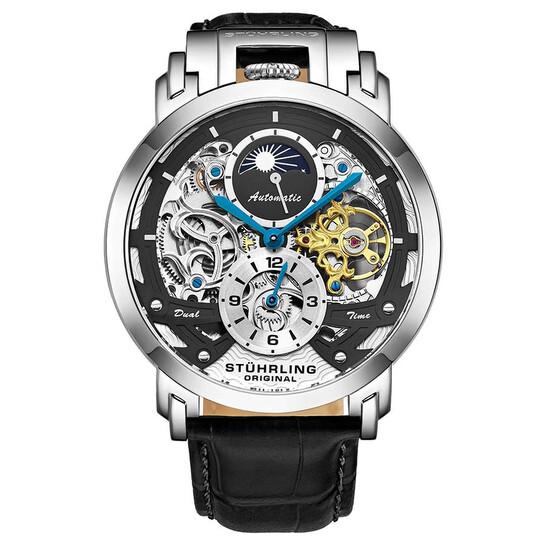 Stuhrling Original Legacy Automatic Black Dial Men's Watch M13529   Joma Shop