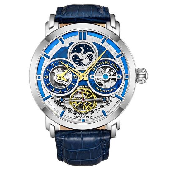 Stuhrling Original Legacy Automatic Blue Dial Men's Watch M13503 | Joma Shop