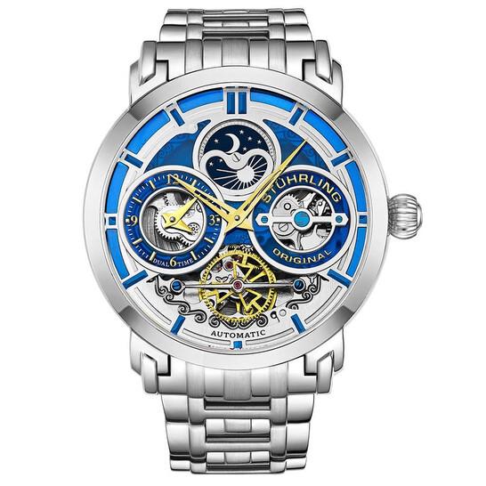 Stuhrling Original Legacy Automatic Blue Dial Men's Watch M13513 | Joma Shop