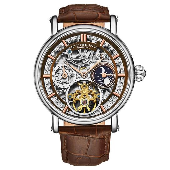 Stuhrling Original Legacy Automatic Brown Dial Men's Watch M13583 | Joma Shop