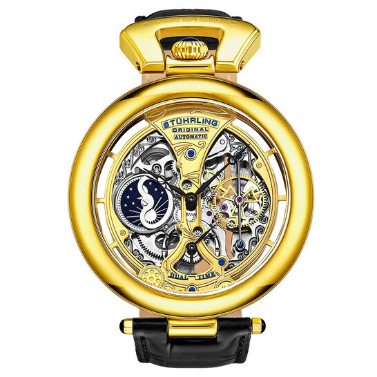 Stuhrling Original Legacy Automatic Gold Dial Men's Watch M13578   Joma Shop