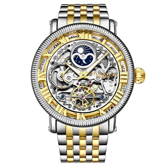 Stuhrling Original Legacy Automatic Gold Dial Men's Watch M13564 | Joma Shop