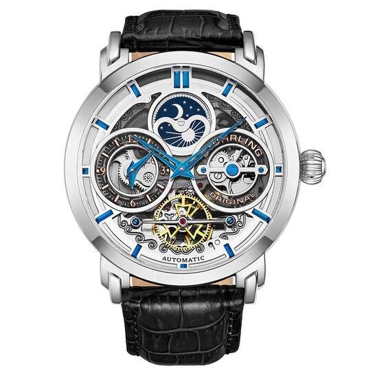 Stuhrling Original Legacy Automatic Silver Dial Men's Watch M13541 | Joma Shop