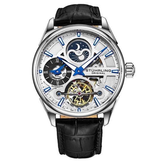 Stuhrling Original Legacy Automatic Silver Dial Men's Watch M13598 | Joma Shop