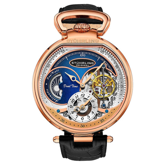 Stuhrling Original Legacy Automatic Blue Dial Men's Watch M13495   Joma Shop