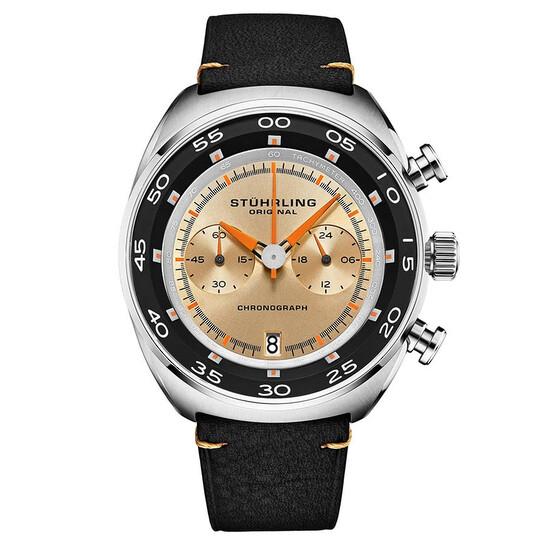 Stuhrling Original Monaco Quartz White Dial Men's Watch M13562   Joma Shop