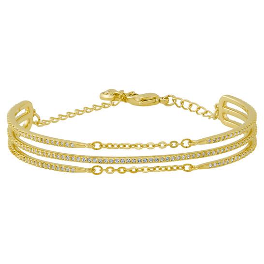 Swarovski Fine Gold-tone Bangle 5230668   Joma Shop