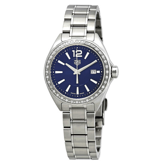 Tag Heuer Formula 1 Blue Dial Ladies Diamond Watch WBJ1416.BA0664 | Joma Shop