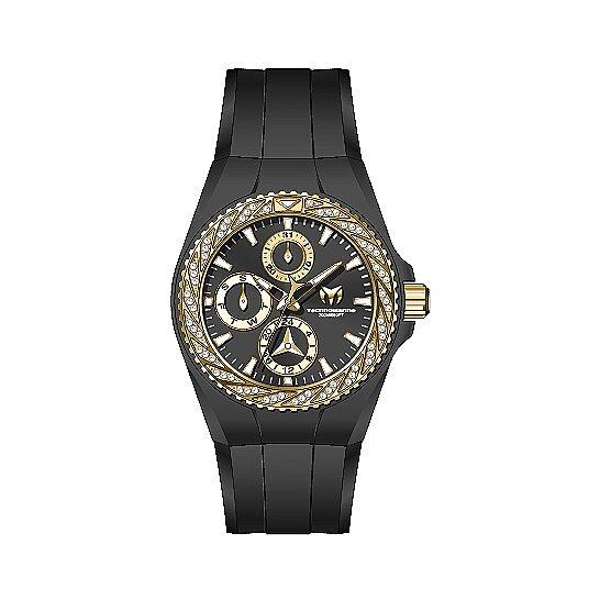 Technomarine Cruise Quartz Crystal Black Dial Ladies Watch TM-118113   Joma Shop